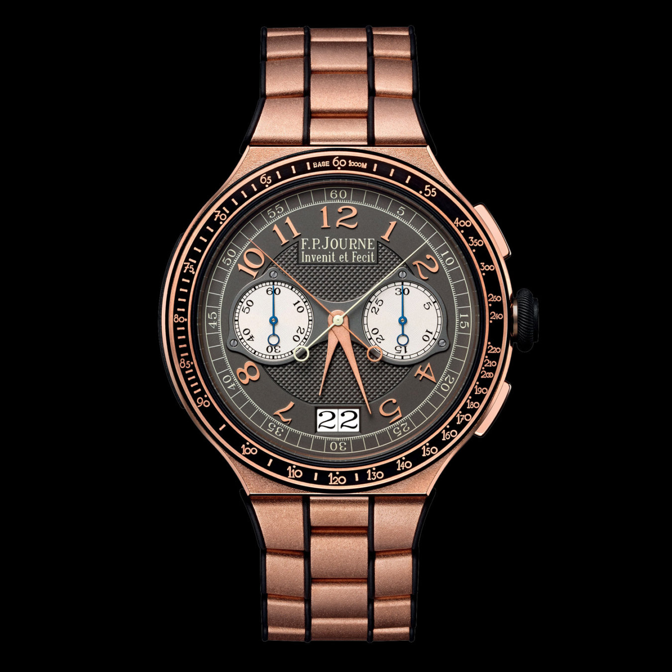 f.p.journe chronographe monopoussoir rattrapante rose gold price