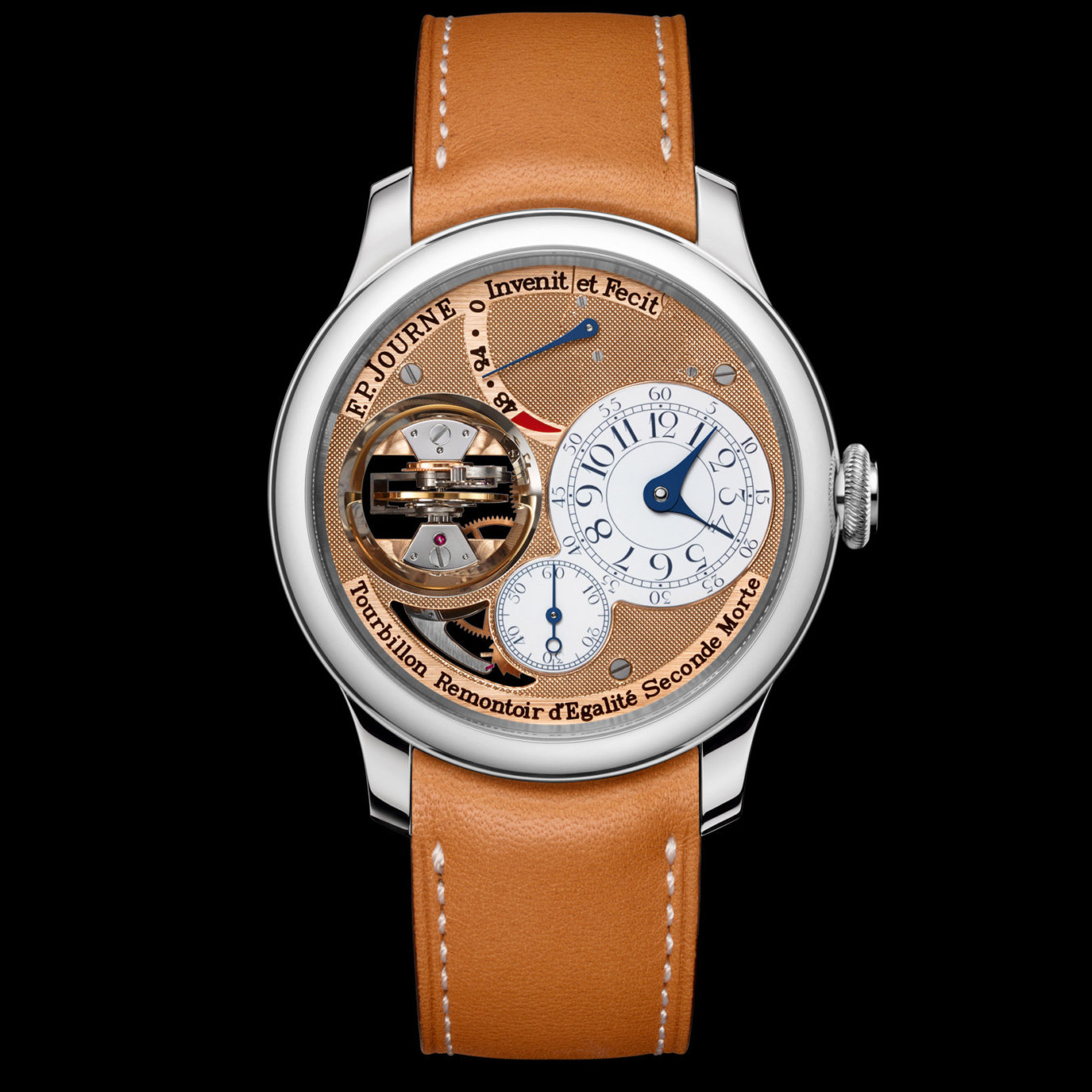 f.p.journe tourbillon vertical souverain platinum price