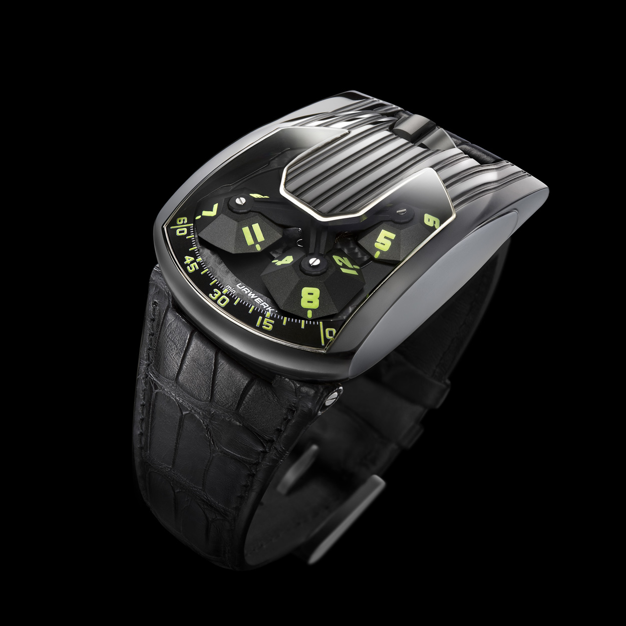 urwerk 103 hexagone black platinum