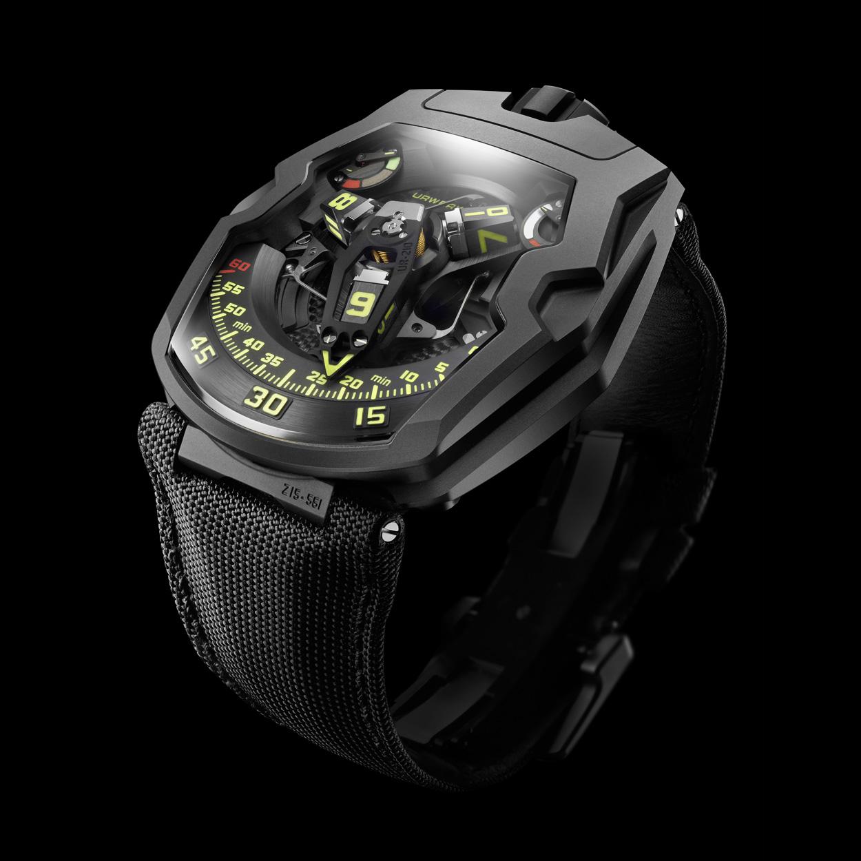urwerk 210y black titanium