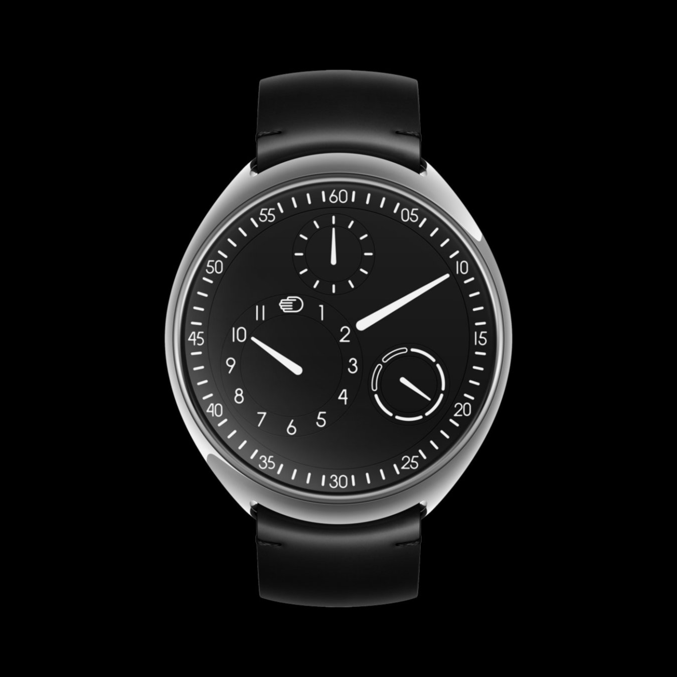 ressence type 1 slim black titanium