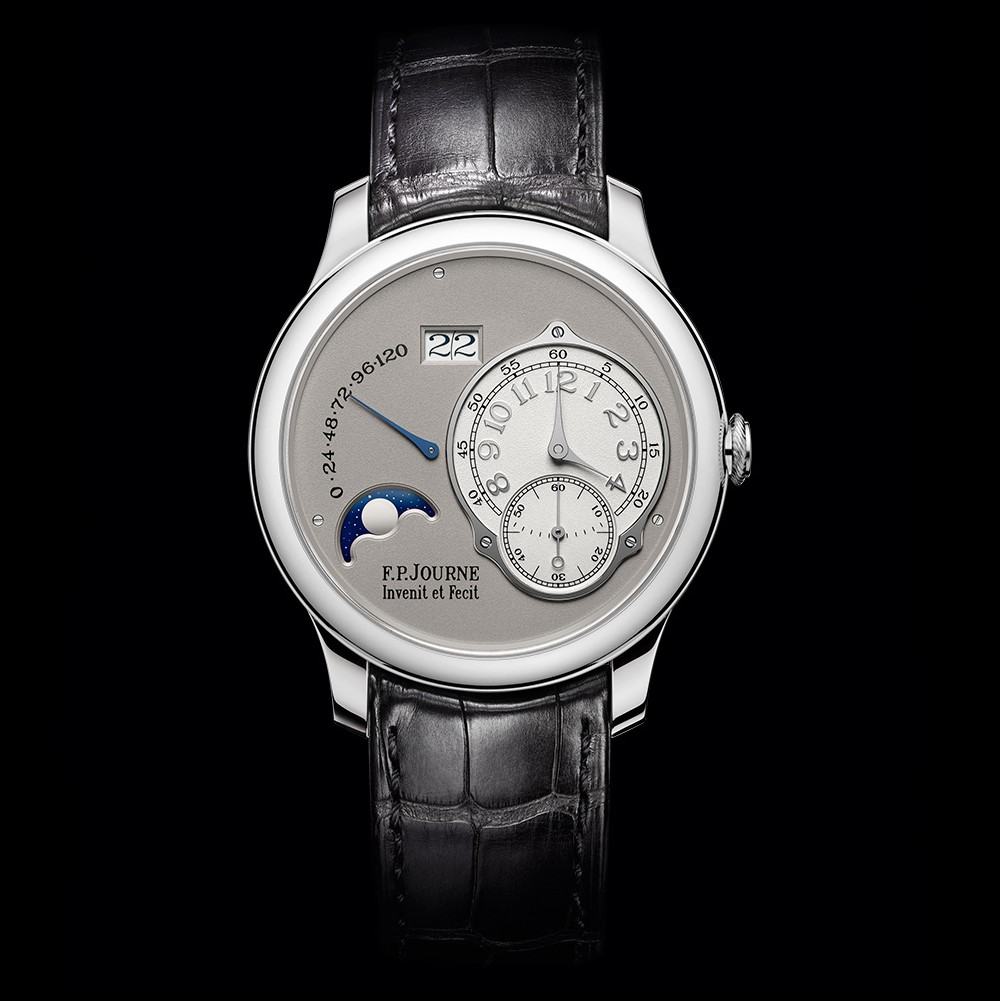 f.p.journe octa lune platinum moonphase