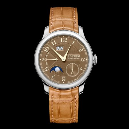 f.p.journe octa automatique lune hava dial platinum