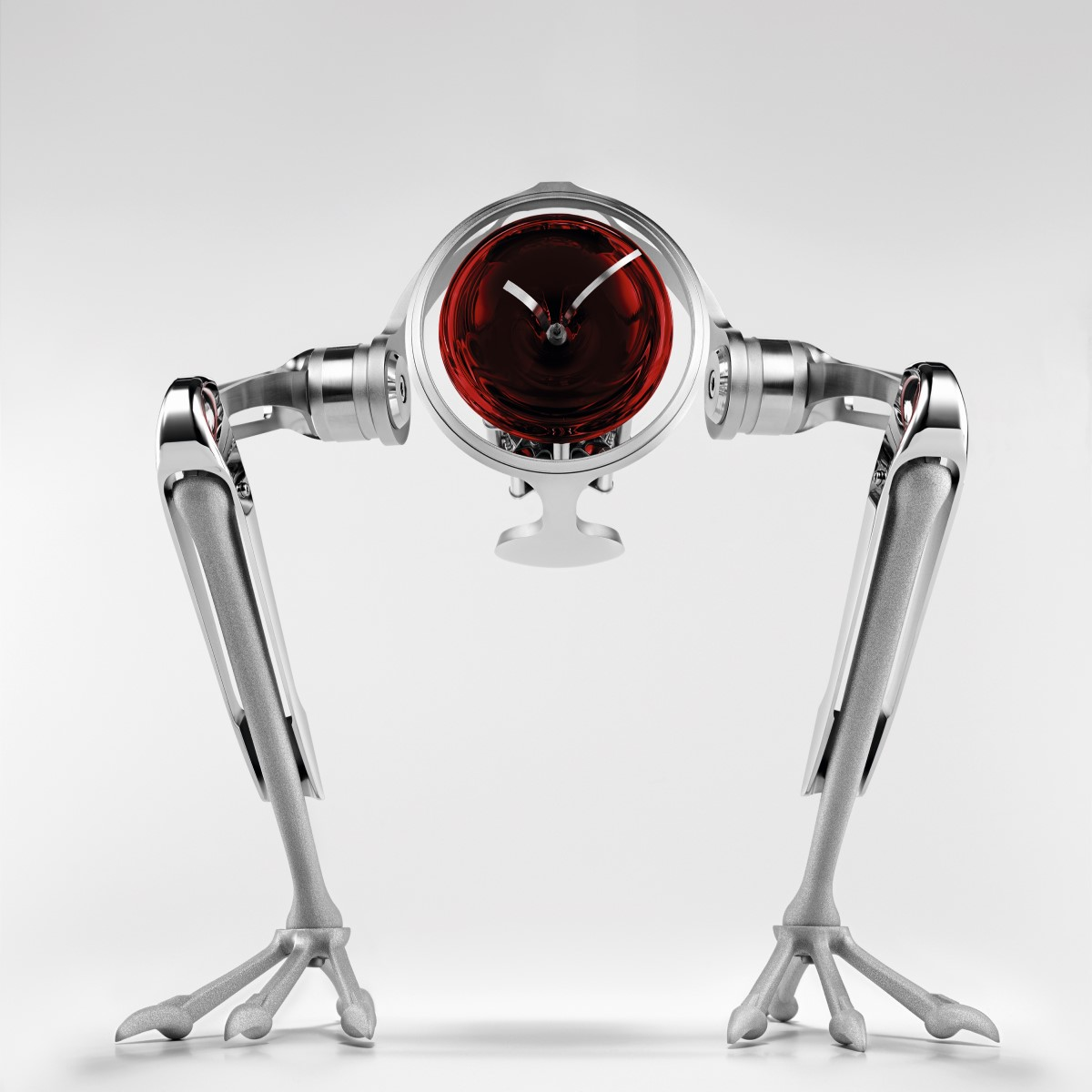 MB&F l'epee t-rex table clock price limited edition murano glass