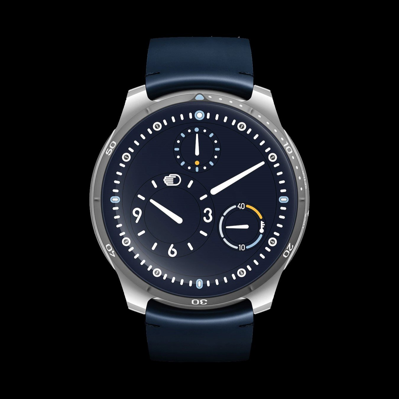 ressence type 5 blue limited edition