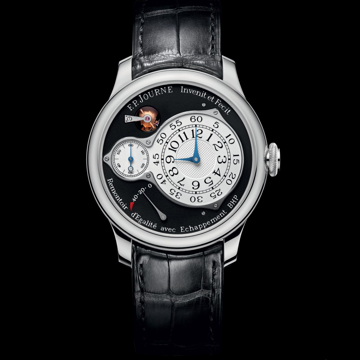 f.p.journe chronometre optimum black label boutique edition