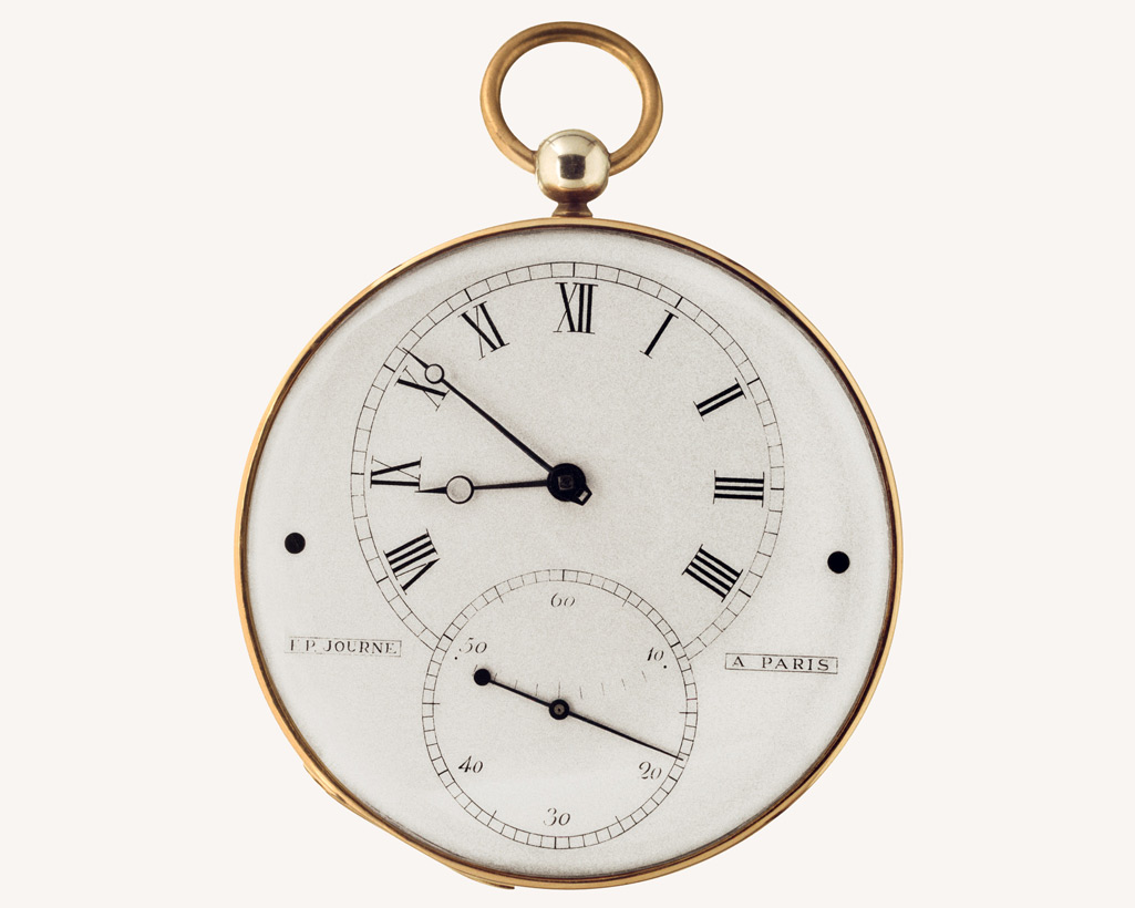 F.P.Journe tourbillon 1983 dial