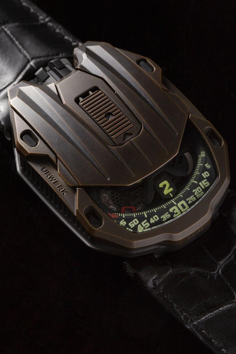 Urwerk UR-105 CT Bronze